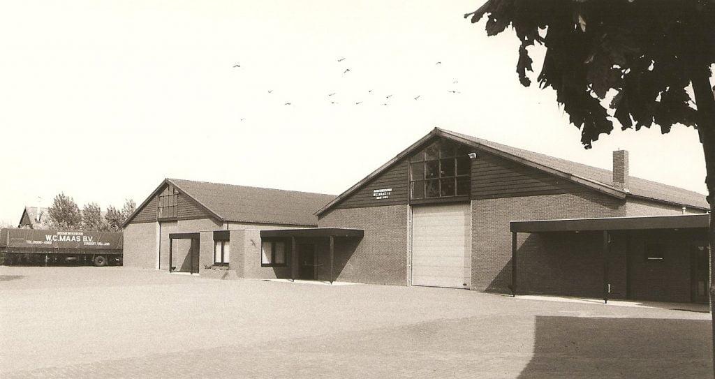 Geschiedenis Maas Plant BV